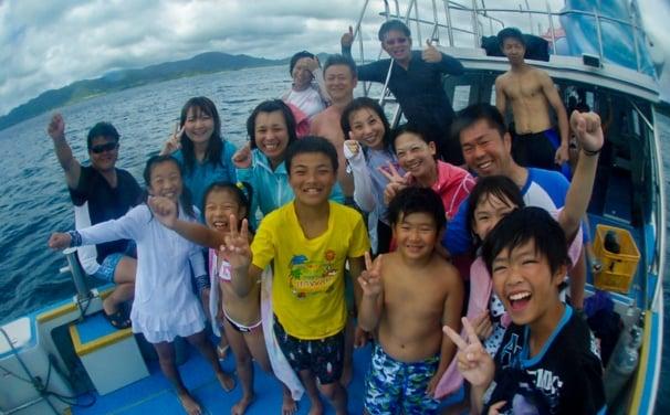 石垣島ダイビング 子供連れ