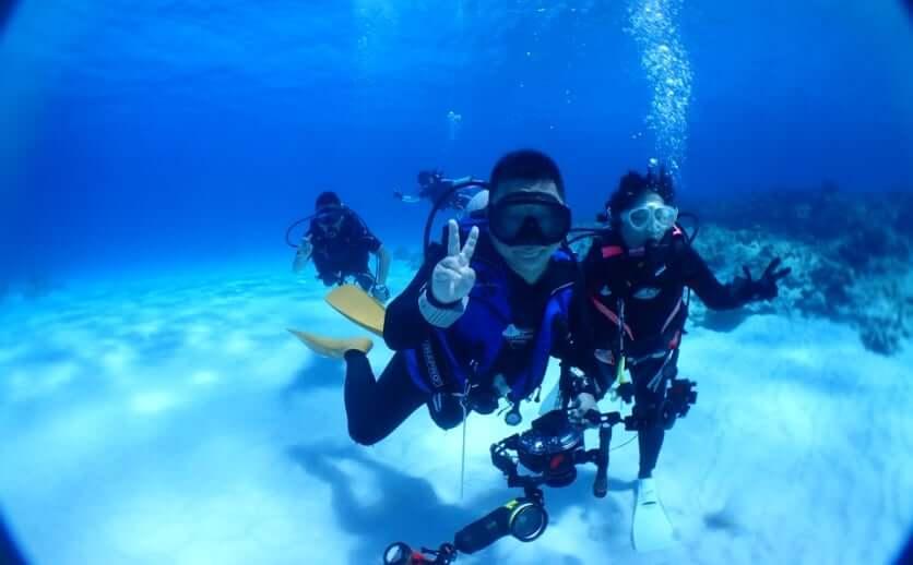 石垣島でダイビング