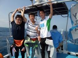 恒例行事に!?トライアスロン→石垣島ダイビング!!
