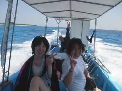 石垣島発っ!!スーパーブルーダイビングへっ!!!