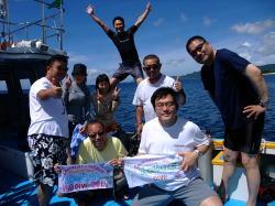 記念ダイビングは一大イベント!?in石垣島。