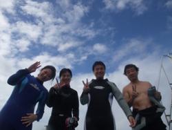 石垣島 ダイビング 一瞬の幸せ!!