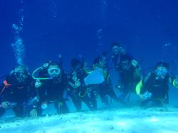 石垣島 ダイビング 最高のポイントでお祝いダイビングッ!!!