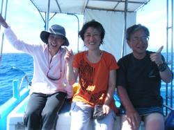 石垣島 ダイビング ピカーン!と快晴な石垣島の青空のもと・・・