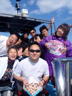 石垣島 ダイビング マンタ祭りでおめでとう~~~~~~!!!!