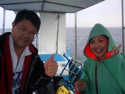 石垣島 ダイビング マグロの編隊に「感激~~~~~~!!!!