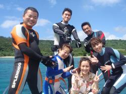 私、ダイビングに・・・・・