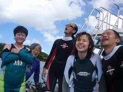 石垣島 ダイビング のんび~~~~~~りとぽわわ~~~~~~~~んと・・・