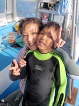 石垣島 ダイビング 天使の笑顔をありがとう~~~~~~!!!!