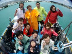 石垣島 ダイビング 春休み楽しんでまーーーーーす!!!!