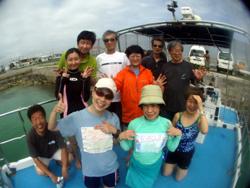 石垣島 ダイビング ツルッツルのピカッピカでおめでとうーーー!!!