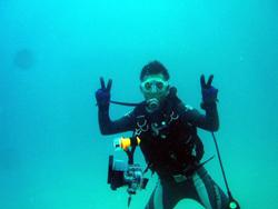石垣島 ダイビング 嵐の前に癒しを求めて