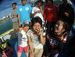 石垣島 ダイビング 日頃の激務を海のパワーで・・・・・