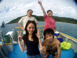石垣島 ダイビング 10年振りの海で・・・・
