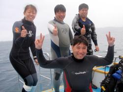 石垣島ダイビングにて脱ブランクダイバー宣言しちゃいまーーーす!!!