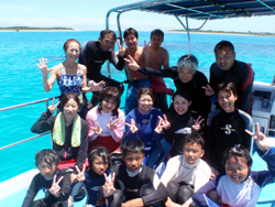 青い海に青い空・・・・まさしくイメージのような石垣島ーーー!!!