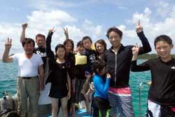 貸切ダイビングで大満足ーーーー!!!!!
