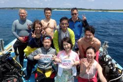日本最南端の島で・・・・・