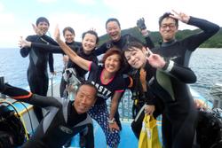 台風前に最高の笑顔(^^)
