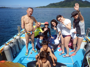 石垣の海!満喫!!